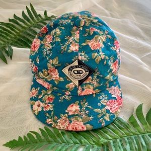 Obey Floral Baseball Hat NEW